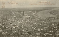 Wallpaper  Panorama Köln 1909